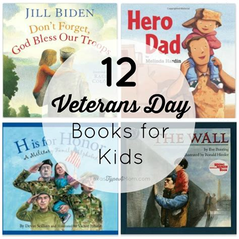 day books 12 veterans day books for