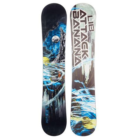 lib tech attack banana lib tech attack banana ec2btx snowboard used 2014 used