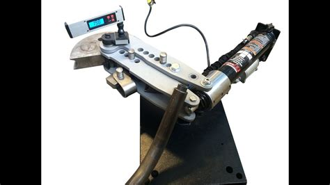 swag  road airhydraulic tube bender ram mount