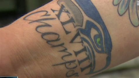 seahawks tattoo fail ridiculist counting his seahawks before they hatch