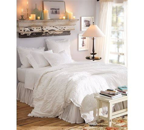Pottery Barn Shabby Chic Velvet Moss Pottery Barn Chic Duvet Can T Wait