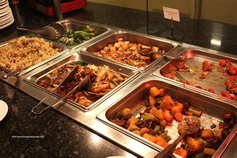 buffet food sherman s food adventures the buffet river rock casino