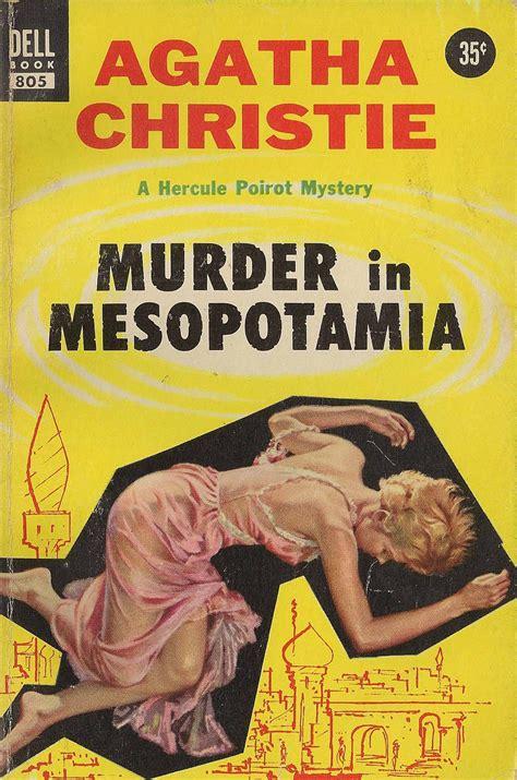 0008164878 murder in mesopotamia poirot murder in mesopotamia by agatha christie dell edition