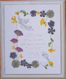 pressed flower framed wedding invitation 1000 images about wedding invitation keepsake on