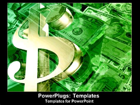 powerpoint templates money money symbol glistening piles of green powerpoint