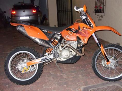 2004 Ktm 525 Exc Review Ktm 525 Exc Racing Pictures Specifications And