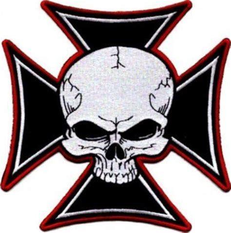 iron cross tattoos meaning skull iron maltese cross embroidered iron on motorcycle