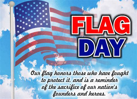 flag day  card  flag day ecards greeting cards