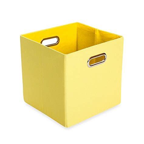 canvas storage bins buy modern littles sweets canvas folding storage bin in
