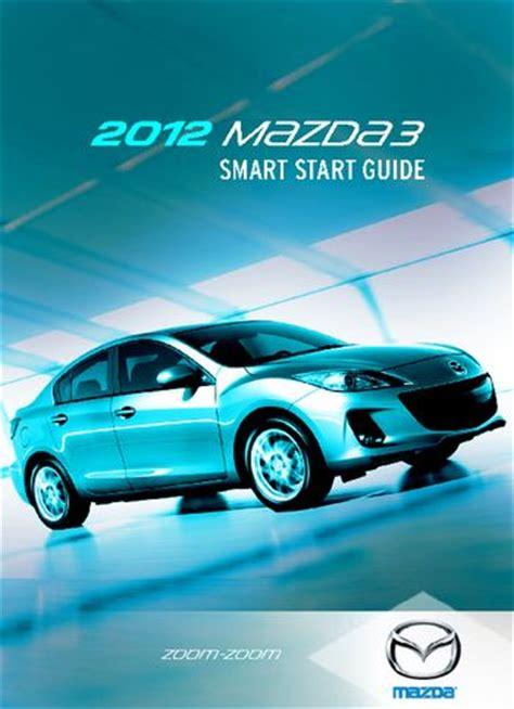 download car manuals pdf free 2012 mazda mazdaspeed 3 instrument cluster 2012 mazda 3 smart start guide pdf manual 16 pages