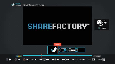 ps4 themes uk store retro sharefactory theme on ps4 official playstation