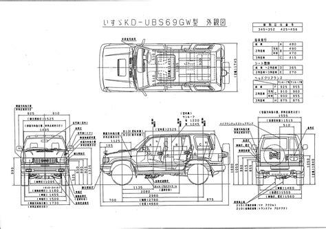 wiring diagram f80 f85 daihatsu willys wiring diagram