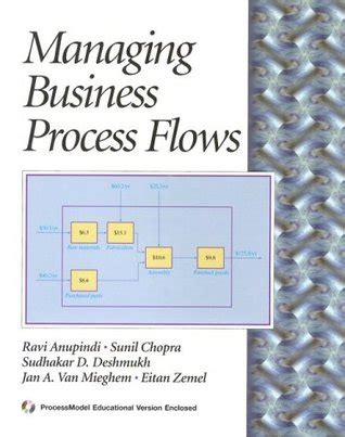 Managing Business Process Flows managing business process flows by rav 237 anupindi
