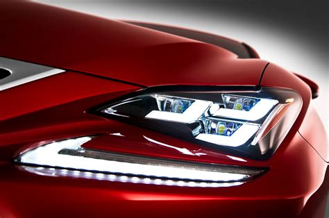 lexus lit head light coupe and lights on pinterest