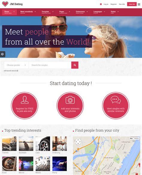 joomla dating template 8 of the best joomla templates for dating websites