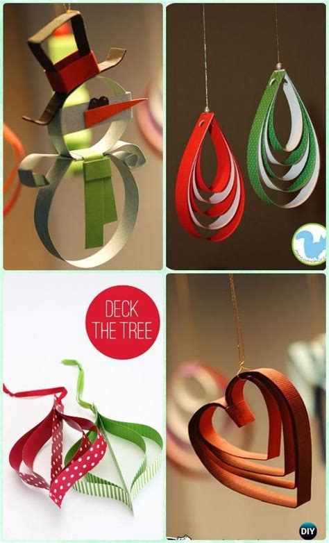 How To Make Ornaments Out Of Paper - 1000 ideas about paper ornaments on ornaments