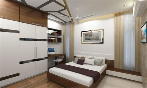 bedroom  wardrobe  study space  adroit design