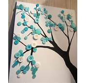 Now While I'm Here I'll Share A Little Turquoise Button Tree I