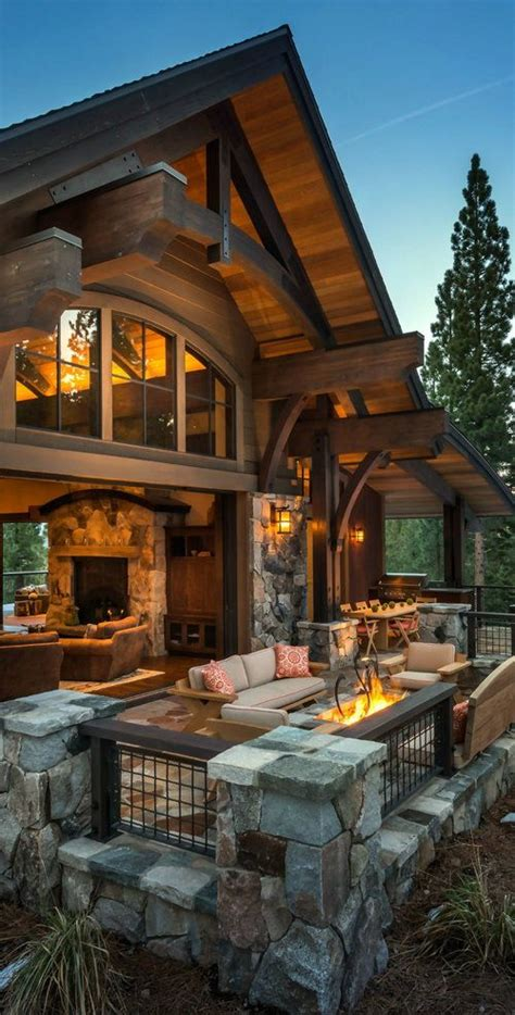 25 best ideas about cabin decks on log cabin exterior log cabin homes and log cabins