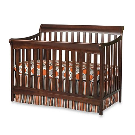 Child Craft Coventry 4 In 1 Convertible Sleigh Crib In Sleigh Convertible Crib