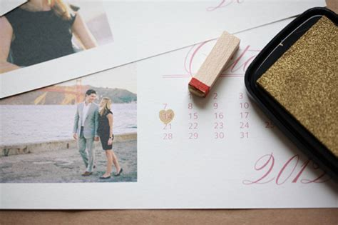 Photo Calendar Do It Yourself Do It Yourself Photo Save The Date Calendar Cards