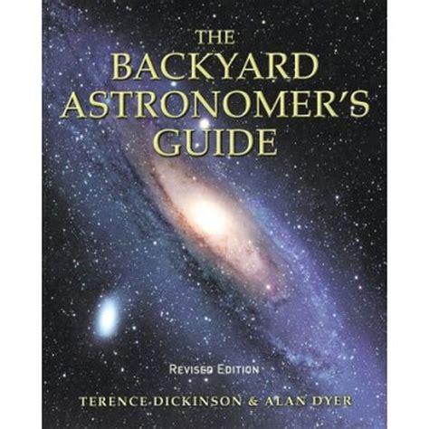 backyard astronomer amherst media book backyard astronomer s guide 1205 b h photo