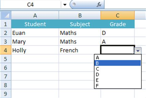 how to insert a cell drop down box in microsoft excel ehow dropdown lists in excel bditbiz
