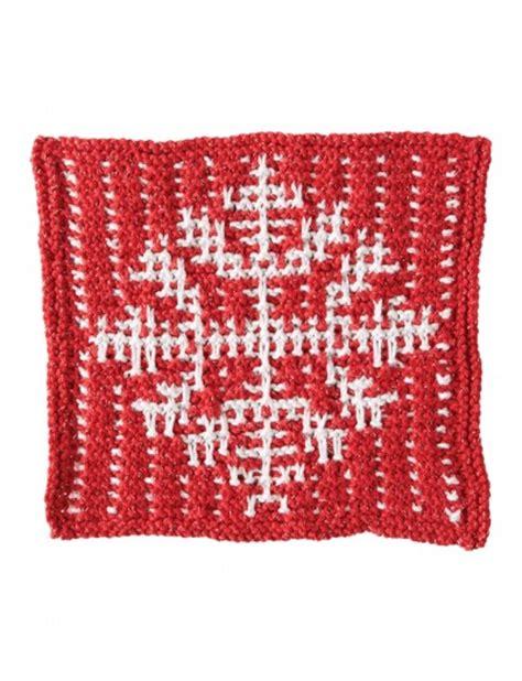 pattern for snowflake dishcloth bernat mosaic snowflake dishcloth knit pattern