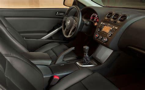 nissan altima coupe interior 2010 nissan altima coupe 3 5 sr driven automobile magazine