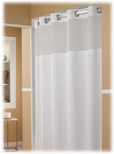 hotel style curtain rods the major hookless hotel shower curtains 12 case