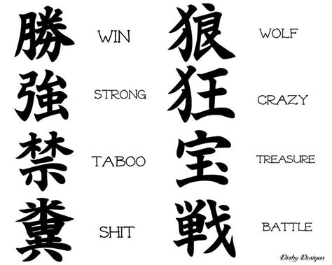 japanese kanji tattoo quotes 100 beautiful chinese japanese kanji tattoo symbols