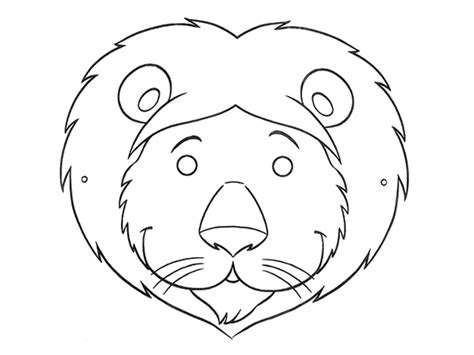 fun printable coloring masks