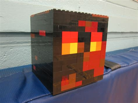 Lego Minecraft Cube World 1 lego magma cube minecraft