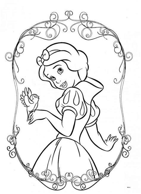 winter princess coloring pages prinzessin 10 ausmalbilder ausmalen disney