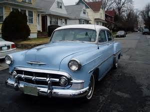 1953 chevrolet bel air front and driver s side exterior