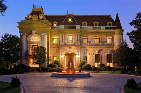 beautiful mansions the mansions at sheshan golf club in shanghai china