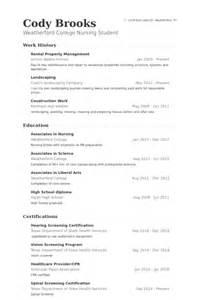property management resume samples visualcv resume