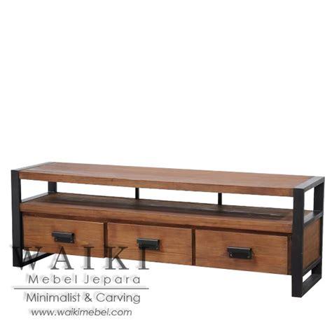 Buffet Kayu buffet kayu besi rastik iron wood buffet furniture