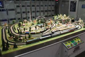 Best Train Tables File Model Railroad Layout Displayed At The Dresden