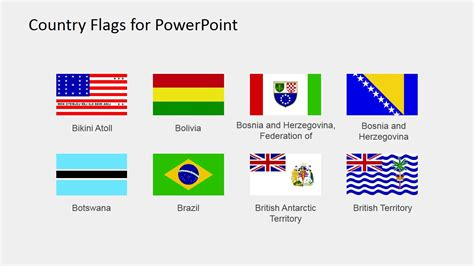 flags of the world for powerpoint flag clipart powerpoint templates slidemodel