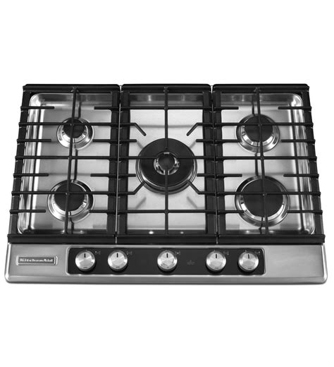 Cooktop A Gas 30 Inch 5 Burner Gas Cooktop Architect 174 Series Ii