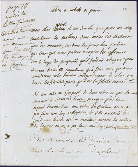 Exemple De Lettre Du Xvii Siècle Lettres Delacroix Maisons Alfort 187 Archive 187 Le Conte Au Xviii 232 Me Si 232 Cle Montesquieu
