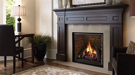 wide gas fireplace wood and gas fireplaces