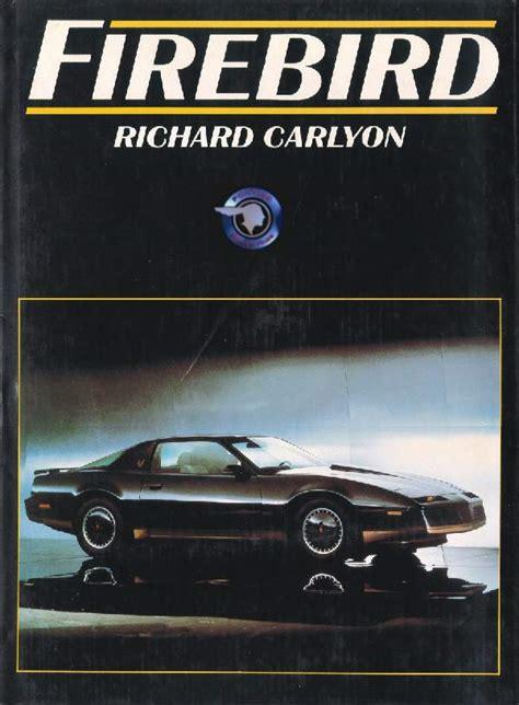 books about how cars work 1990 pontiac trans sport parental controls pontiac power page books firebird