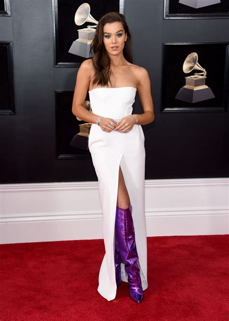 Grammy Awards by Hailee Steinfeld At 60th Annual Grammy Awards In Nyc