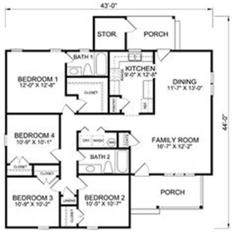 cheap 4 bedroom house plans affordable 4 bedroom house plans room image and wallper 2017