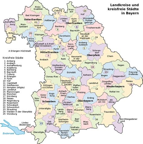 maps of germany with cities and towns towns in bavaria germany map of bavaria with its