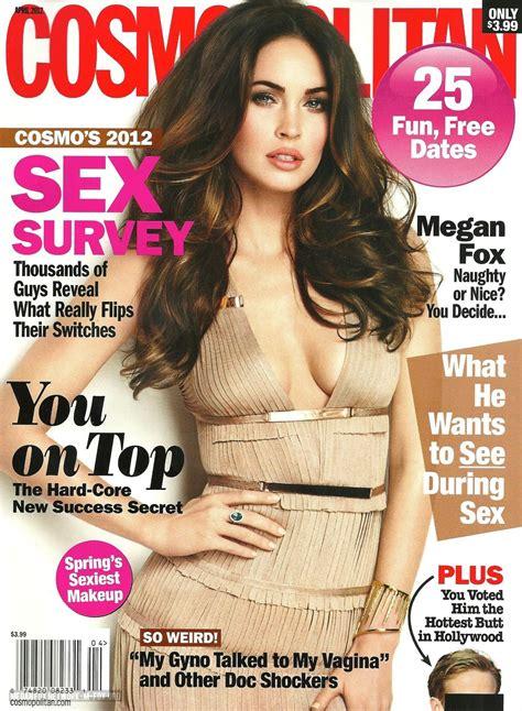 cosmopolitan magazine cosmopolitan april issue megan fox photo 29359467