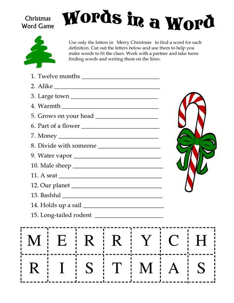 free printable christmas games with answers printable christmas word games xmaspin