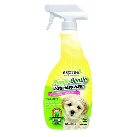 espree puppy shoo espree puppy waterless bath spray 710ml